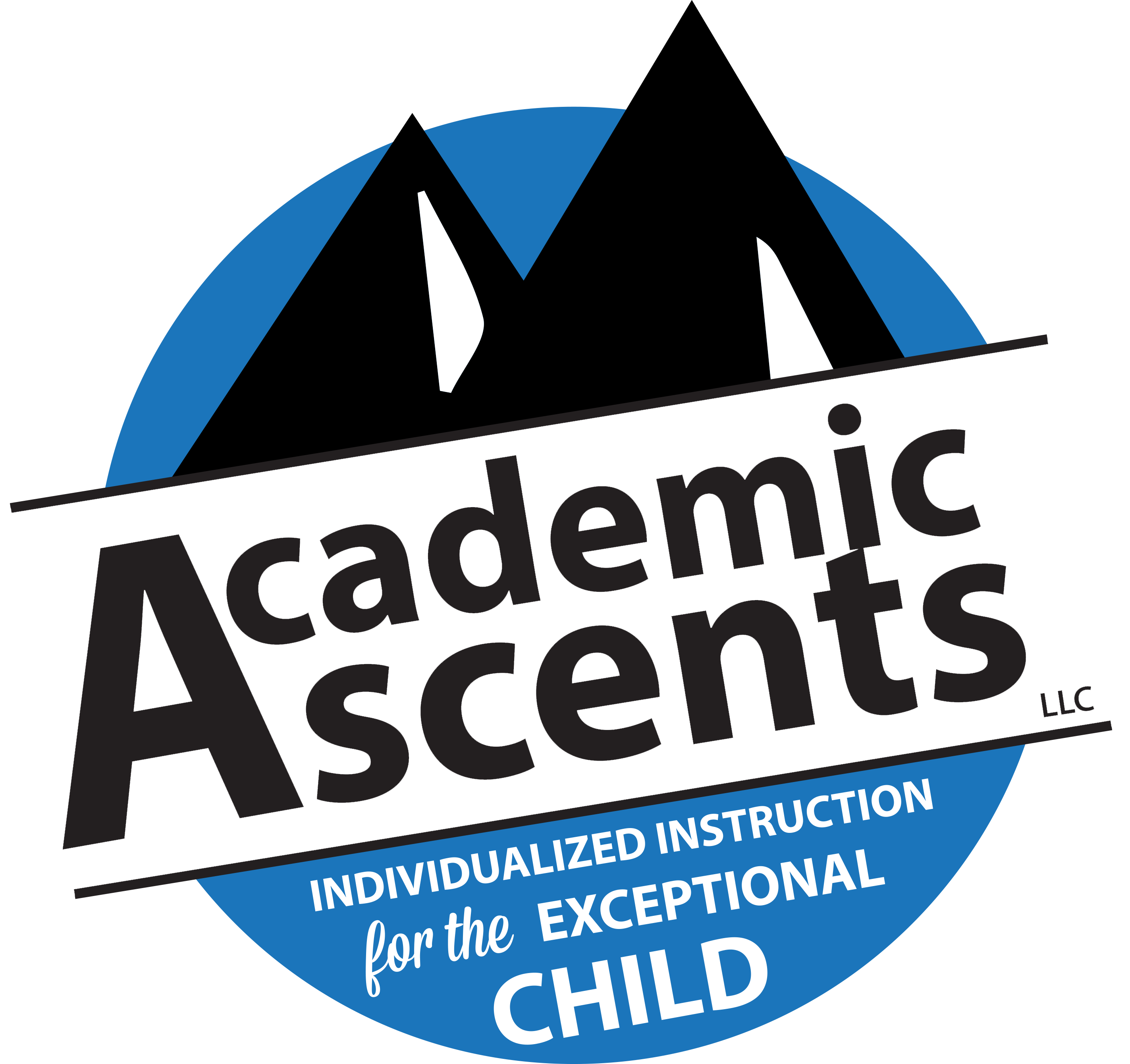 Home page link: academic ascents company logo